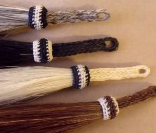Beautiful Real Horse Hair Shu Fly Girth Tassel Sorrel