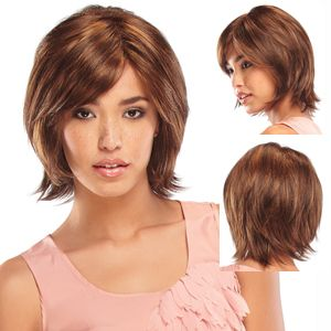 Colette 5869 by Jon Renau Wigs 4 33 Chocolate Raspberry Truffle