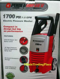 Power Washer 1700 PSI Garden Electric Water Pressure