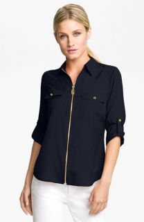 MICHAEL Michael Kors Zip Safari Shirt