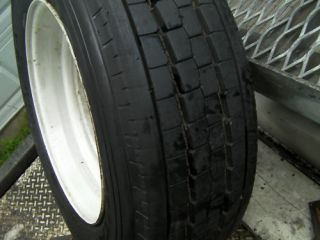 Commercial Truck Trailer Steer Tires 245 70R19 5