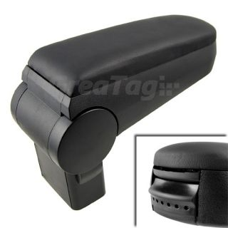 Leather Center Console Storage Armrest Replacement for VW R32 GTI Golf