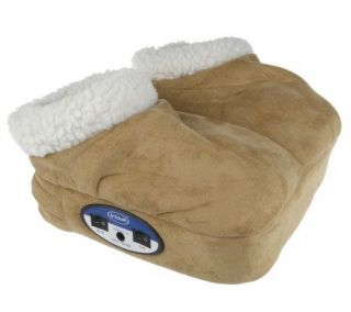Dr. Scholls Fleece Foot Massager with Heat —