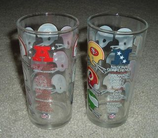 National Football League Glasses National American Conferences