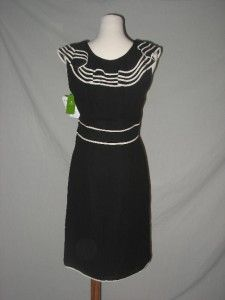 NWT Kate Spade Avery Dress Black Corte Madera 10