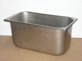 Stainless Steel Buffer Serving Pan Commercial Steam Table