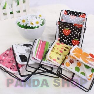 colored Floral Pattern Collecting Boxes Multi Function Makeup Tools