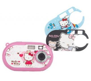 Hello Kitty Youth Digital Camera w/ Changing Face Plates —