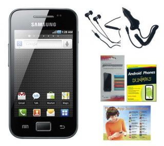 Samsung Galaxy Ace Plus Unlocked Phone w/ AppSuite & More   E264899