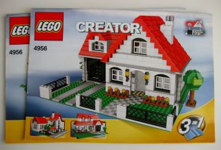 Lego Creator House 4956 Instructions Only New 2007 853028001715