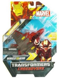 Transformers Marvel Crossovers Iron Man Figure Jet New
