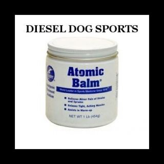 Cramer Atomic Balm Pain Relief Sports Rub Ointment 1lb