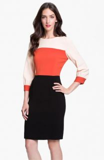 kate spade new york parker colorblock sheath dress