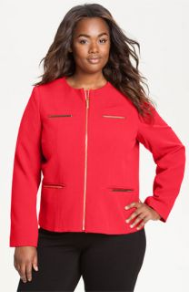 MICHAEL Michael Kors Reb Military Jacket (Plus)