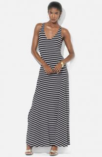 Lauren Ralph Lauren Stripe Maxi Dress (Petite)