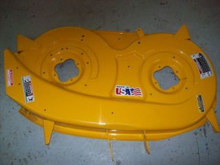 CUB CADET 42 MOWER DECK SHELL 603 0409 A B FITS 2000 SERIES 903 0409D