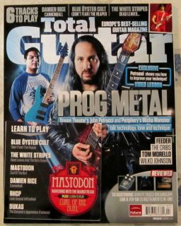 TOTAL GUITAR Dream Theater + CD April 2012 PROG METAL Blue Oyster Cult