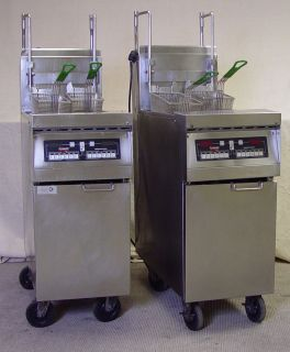 Frymaster Gas Deep Fat Fryer / Single Frypot High Efficiency / Model
