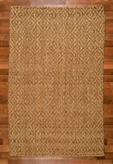 Delhi 8x10 Hand Loomed 100 All Natural Jute Area Rugs New