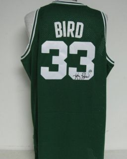 Larry Bird Celtics Signed Autographed Jersey Larry Bird Authenticated