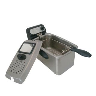 Rongsheng 4.0L 1500W Electric Deep Fryer Fully Stainless Steel