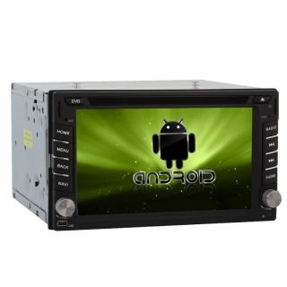 Double Din Car Stereo GPS Navigation Cpu 1G The Fastest Pure Android