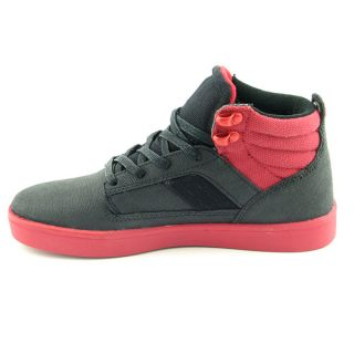 Supra Bandit Black Skate Shoes Youth Kids Boys Size 4