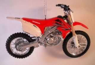 CRF 450R Dirt Bike Motorcycle Tree Ornament Diecast 450 R Trail Riding