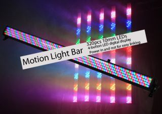 Motion Light Bar LED RGB Stage Lighting DJ Lights Church DMX Free DMX