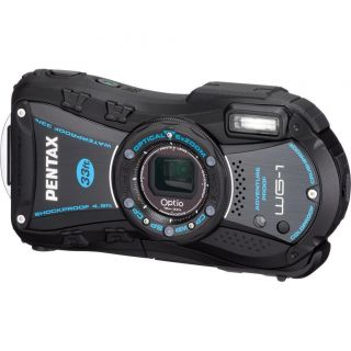 PENTAX 14 MP UNDERWATER WATERPROOF DROPPROOF DIGITAL CAMERA FOR