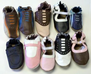 Soft Sole Leather Infant Shoes Shoe Designs Girls Boys Unisex