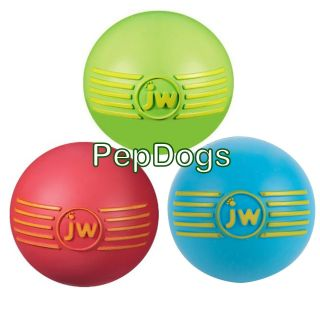 JW Isqueak Squeaker Ball Small Dog Puppy Chew Fetch Toy