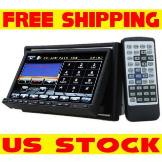 DIN Car Stereo DVD Player 7 Touch Screen TV BT iPod