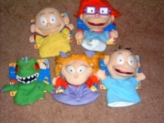 Rugrats Plush Doll Tommy Angelica Reptar Chuckie Dill