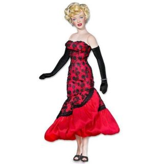 FRANKLIN MINT Marilyn Monroe Vinyl Doll Dont Bother to Knock Premiere
