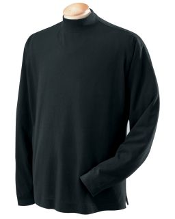 Devon Jones Mens Sueded Jersey Turtleneck Shirt