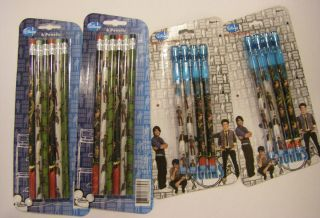 Disney Channel Jonas Brothers 4 Packs Pencils NEW Party Favors