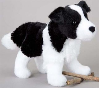 Border Collie Dog Stuffed Plush by Douglas New