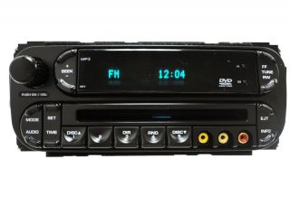 DODGE Caravan CHRYSLER Town and Country Radio  CD Player DVD 05 06