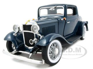 new 1 18 scale diecast model of 1932 ford 3 window coupe die cast car