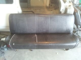 81 Dodge Power Ram Crew Cab Rear Bench Seat Great Condition Lots more