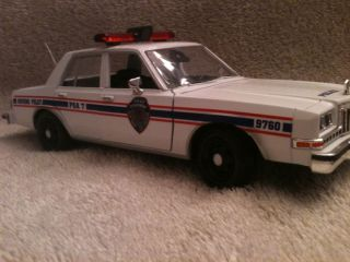 OLD SCHOOL NY HOUSING POLICE DODGE DIPLOMAT UT DIECAST MODEL CAR