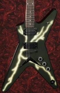 New Dean Dimebag Darrel ml Black Bolt Electric Guitar