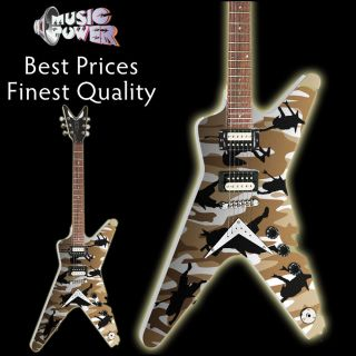 Dean Dimebag Darrel ml Dime O Flage Tribute Electric Guitar
