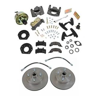 Summit Racing Brake Kit Drum to Disc Conversion Front 4 Lug Ford