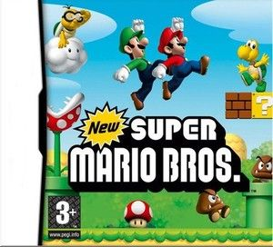 Super mario bros ds game for Nintendo DS DSI NDSL 3DS best Children