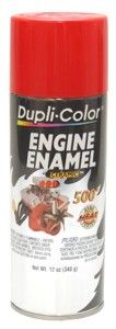 Dupli Color Red Engine Aerosol Spray Paint with Ceramic