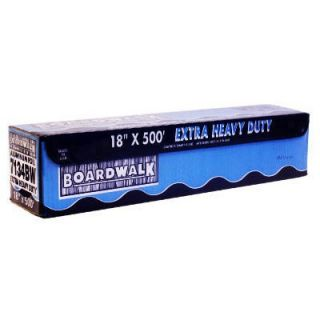 Boardwalk Extra Heavy Duty Aluminum Foil Roll 18 quot quot x 500 ft