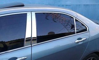Dodge Journey 11 12 13 Chrome Door Pillars Mirror Post Door Cover 2011