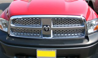 2009 2011 Dodge RAM 1500 2500 3500 Chrome Grille Insert